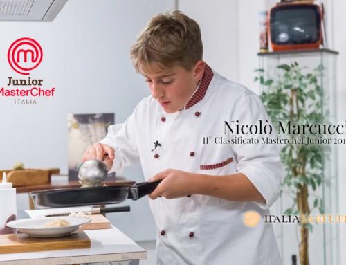Nicolò Marcucci, finalist of Masterchef junior 2015, kitchen for us!